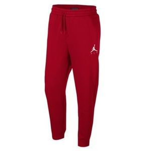 174e3b91f51843 Jordan Bottoms - Red boys jumpman Jordan sweats